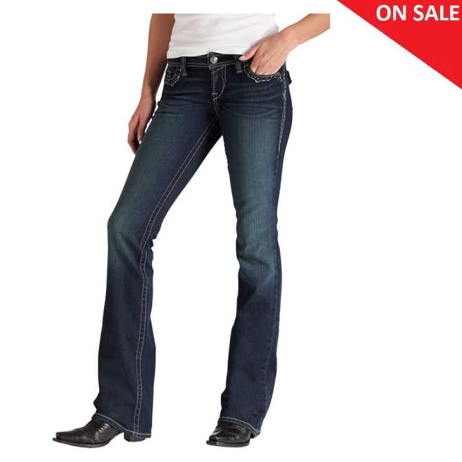 10011777 Women's Ariat Ruby Slim Dark Wash Jean